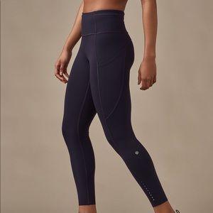 Lululemon fast and free pant. Size 10. Black.